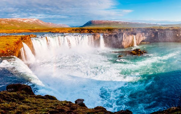 Godafoss-stock