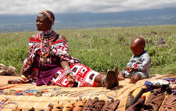 Maasai-woman-by-Dain-Van-Schoyck
