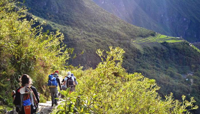Hiking on the Inca Trail by Laura Hare